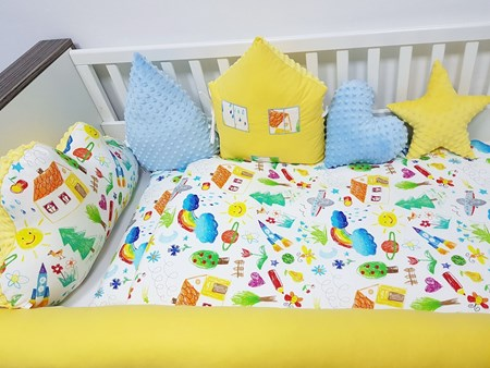Picture for category Bamboo baby bed bumber