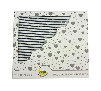 Picture of Cotton blanket 100x80cm - Stripes