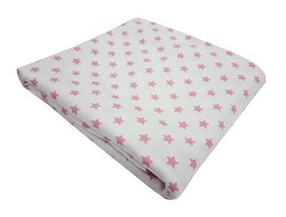 Picture of Cotton blanket 100x80cm - Rose stars