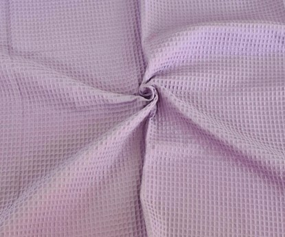 Picture of Waffle blanket 100x80 - Lilac
