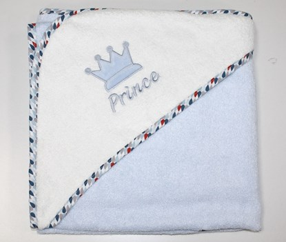 Picture of Premium bamboo hooded towel - Prince 90x90cm