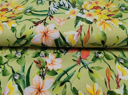 Picture of Winter sleeping bag with sleevs - Flowers