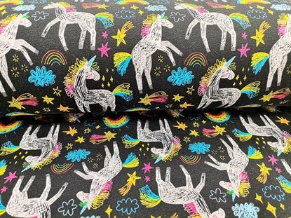 Picture of Summer sleeping bag with legs - Unicorns